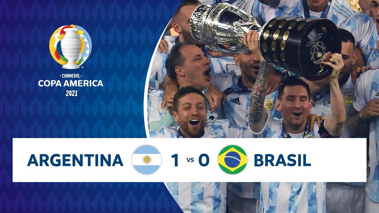 Argentina đã vô địch Copa America