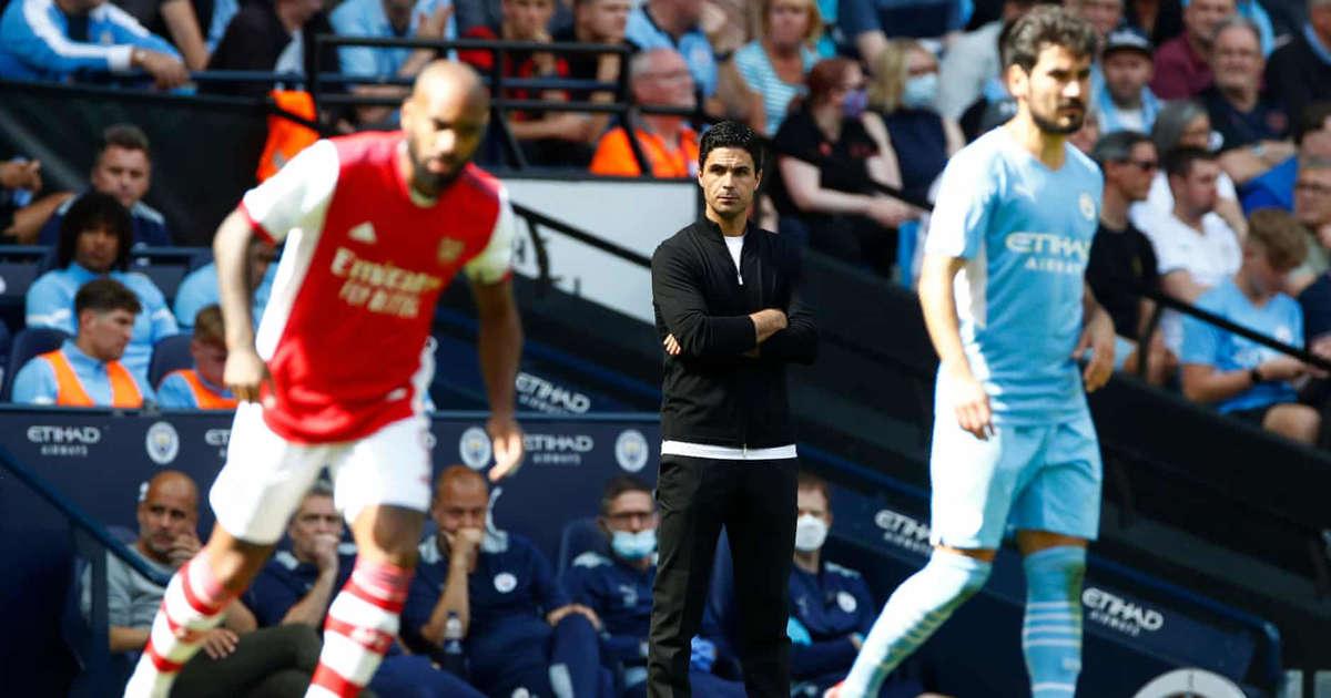 Arsenal chỉ giữ bóng trong 19% thời lượng trận thua Man City