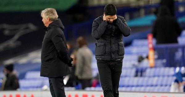 HLV Mikel Arteta đã rất thất vọng với Arsenal