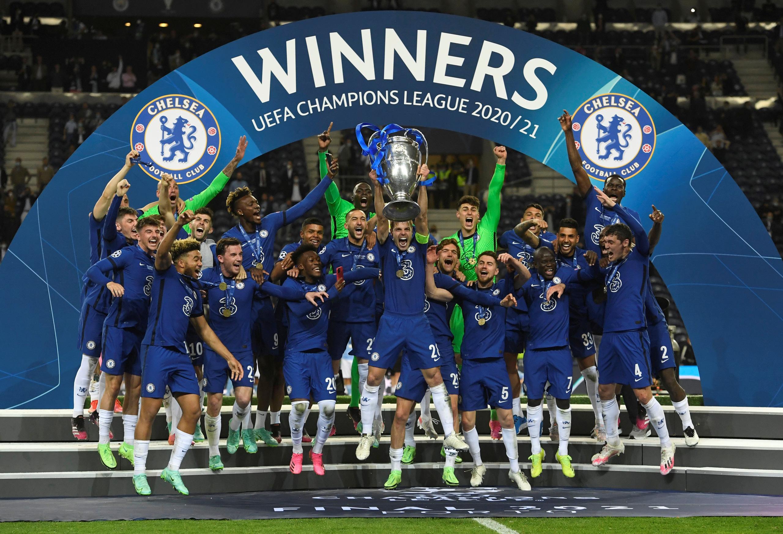Chelsea đã trở thành nhà vô địch Champions League