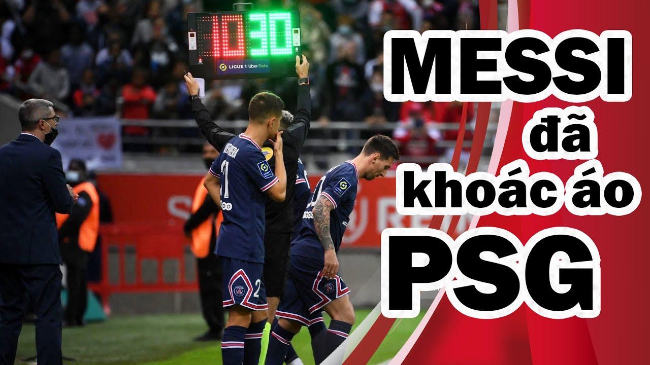 Messi trong trận ra mắt PSG có hành động gây tranh cãi