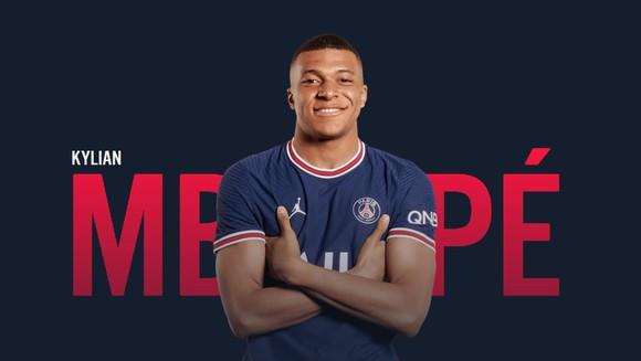 Cầu thủ Mbappe