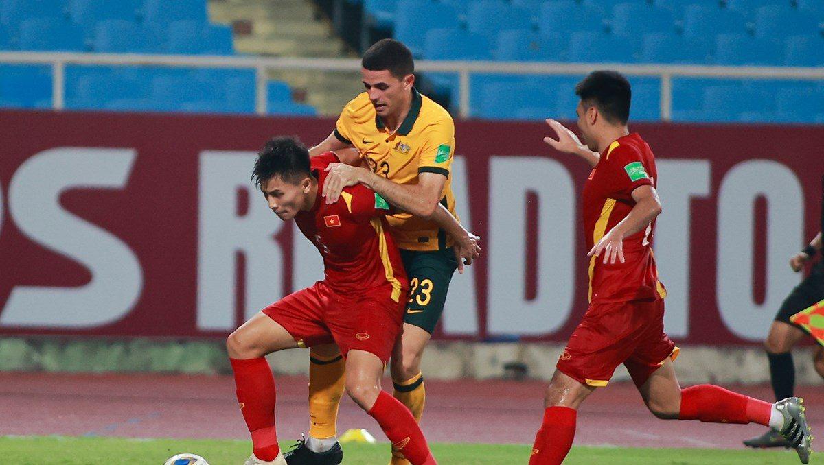 Trận đấu đầy nỗ lực của tuyển Việt Nam